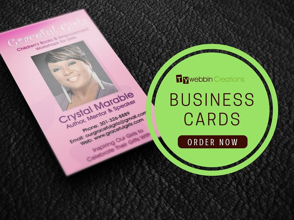 Order custom business card tywebbin creations for Order custom business cards